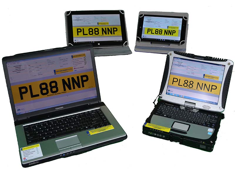 Bespoke Number Plate Printing Software