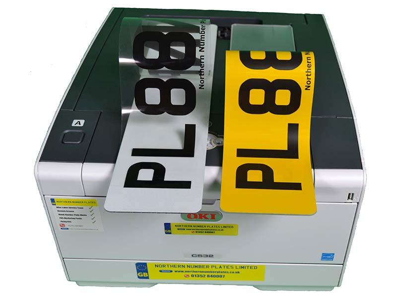 Number Plate Printers